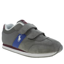 Polo Ralph Lauren Grey Duma Ez Boys Junior