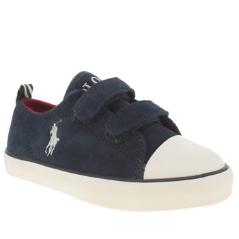 Polo Ralph Lauren Navy Falmuth Low Ez Boys Junior
