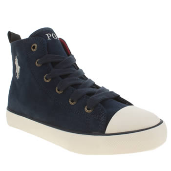 Polo Ralph Lauren Navy Falmuth Hi Boys Junior
