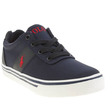 Polo Ralph Lauren Navy & White Hanford Boys Junior