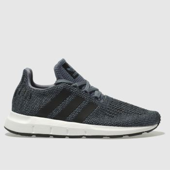 Adidas Grey Swift Run Boys Junior