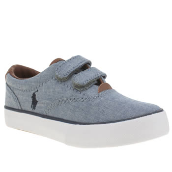 Polo Ralph Lauren Blue Vaughn Boys Junior