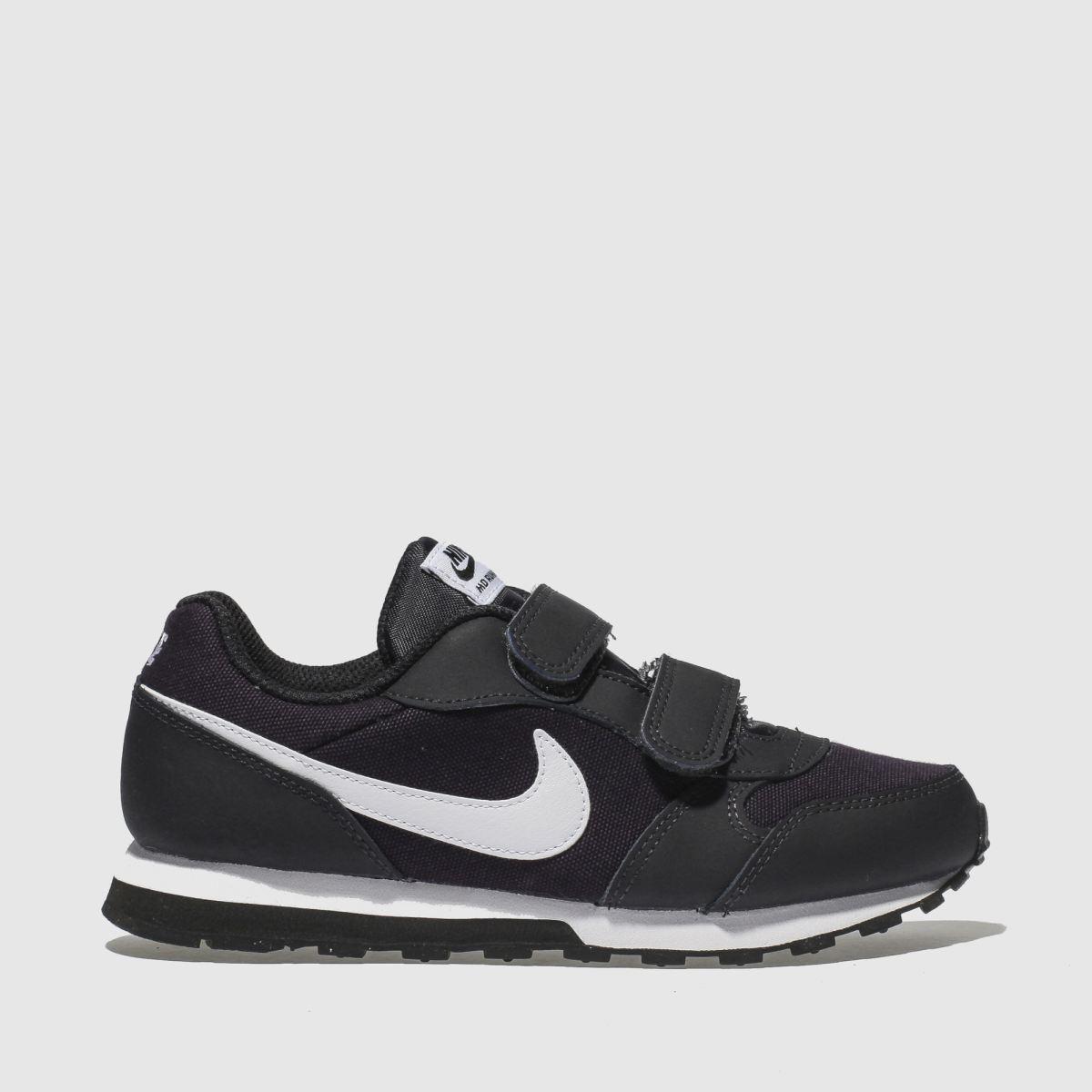 Nike Navy Md Runner 2 Trainers Junior