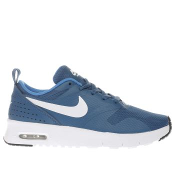 Nike Blue Air Max Tavas Boys Junior
