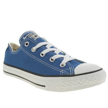 Boys Converse Blue All Star Oxford Boys Junior