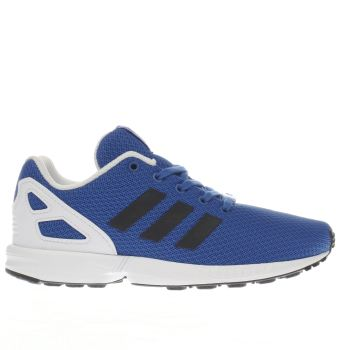 Adidas Blue Zx Flux Boys Junior