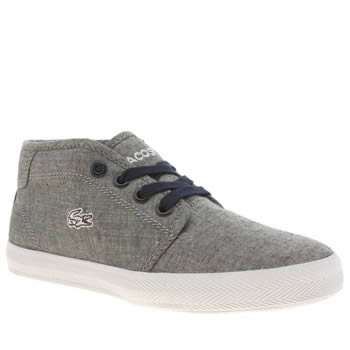 Lacoste Grey Ampthill Boys Junior