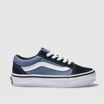 Vans Navy Old Skool Boys Junior