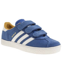 Junior Blue Adidas Gazelle 2