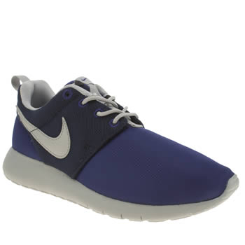 Nike Navy & Grey Roshe One Boys Youth