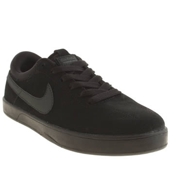 Nike Skateboarding Black & Grey Eric Koston Boys Youth
