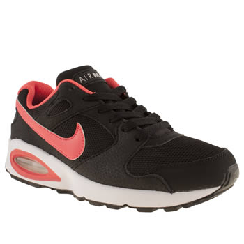 Boys Nike Black & Red Air Max Coliseum Racer Boys Youth