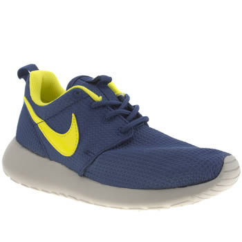 Boys Nike Blue Roshe Run Boys Youth