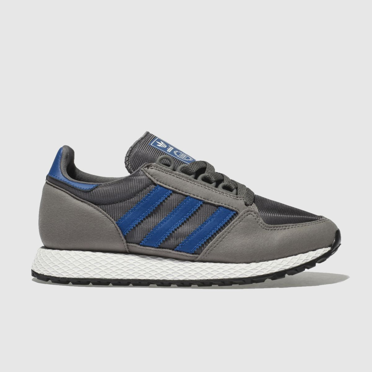 Adidas Dark Grey Forest Grove Trainers Youth