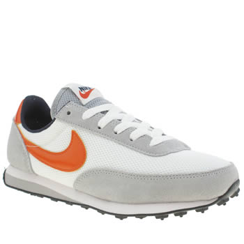 Boys Nike White & Orange Elite Boys Youth