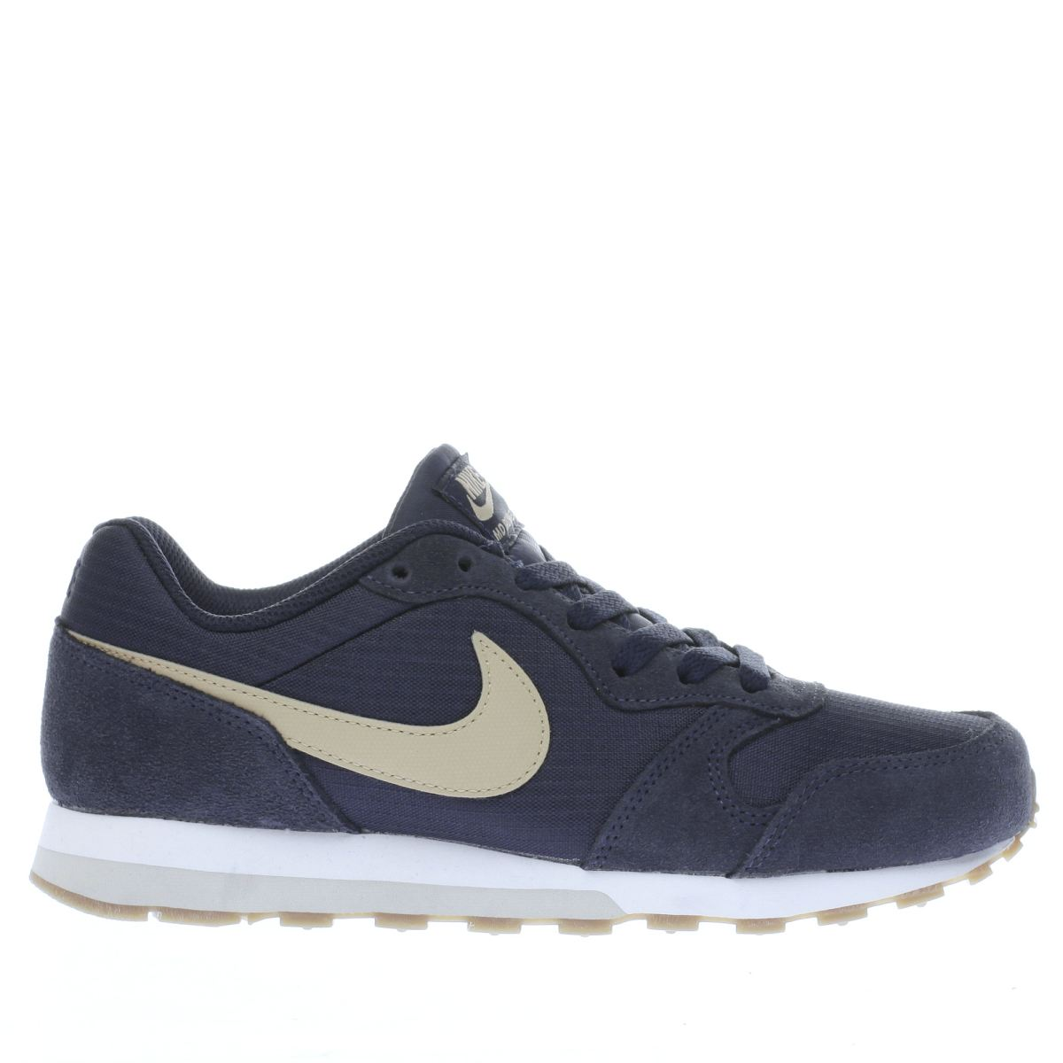 nike navy & stone md runner 2 Boys Youth Trainers