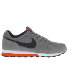 Nike Grey & Black Md Runner 2 Boys Youth