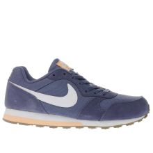 Nike Blue & Peach Md Runner 2 Boys Youth
