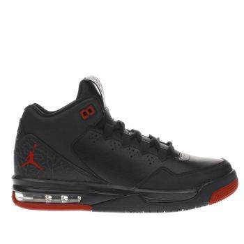 Nike Jordan Black & Red Flight Origin Boys Youth