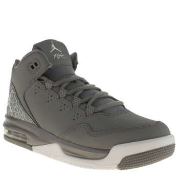 NIKE JORDAN  GREY FLIGHT ORIGIN BOYS YOUTH TRAINERS
