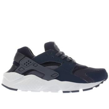 Nike Navy Huarache Run Boys Youth