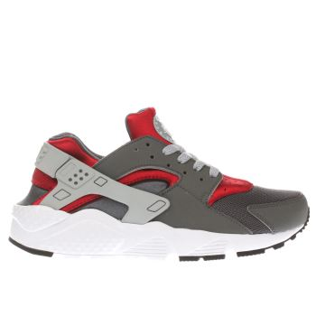 Nike Grey Huarache Run Boys Youth
