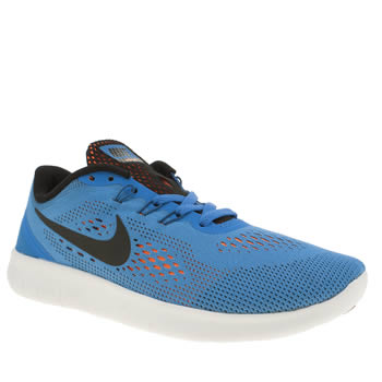 Nike Blue Free Rn Boys Youth