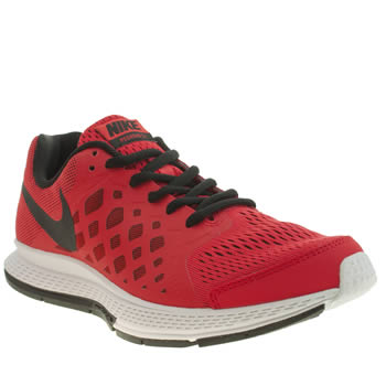 Boys Nike Red Zoom Pegasus 31 Boys Youth