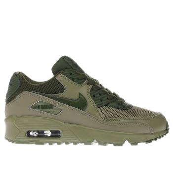 Nike Khaki Air Max 90 Mesh Boys Youth