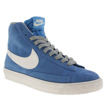 Boys Nike Blue Blazer Mid Boys Youth
