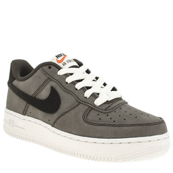 Boys Nike Grey Air Force 1 Boys Youth