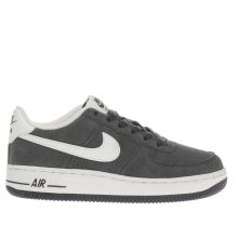 Nike Grey Air Force 1 Boys Youth