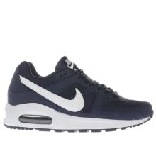 Nike Navy & White Air Max Command Boys Youth