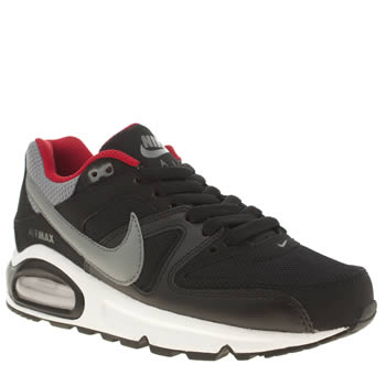 Nike Black Air Max Command Boys Youth