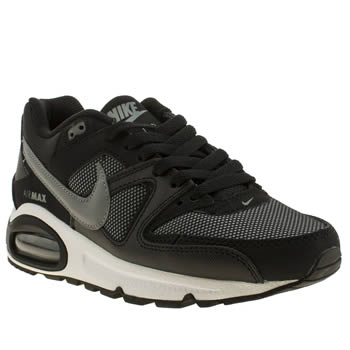 Nike Black & Grey Air Max Command Boys Youth