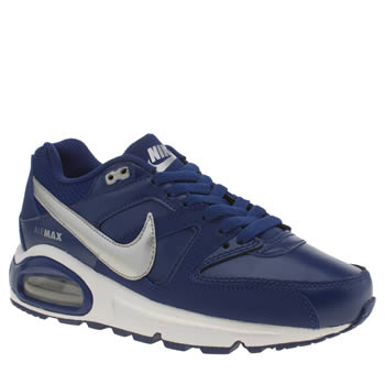 Nike Navy & Grey Air Max Command Ltr Boys Youth