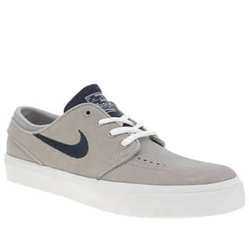 Nike Skateboarding Light Grey Stefan Janoski Boys Youth