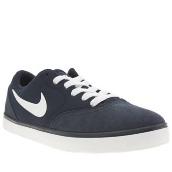 Nike Skateboarding Navy Check Boys Youth