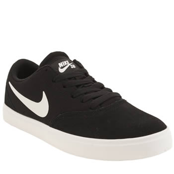 Nike Sb Black & White Check Boys Youth