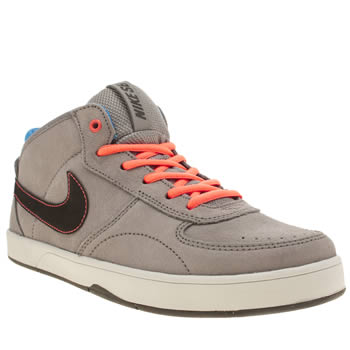 Nike Skateboarding Light Grey Mavrk Mid 3 Boys Youth