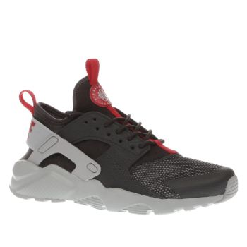 Nike Dark Grey Air Huarache Ultra Boys Youth