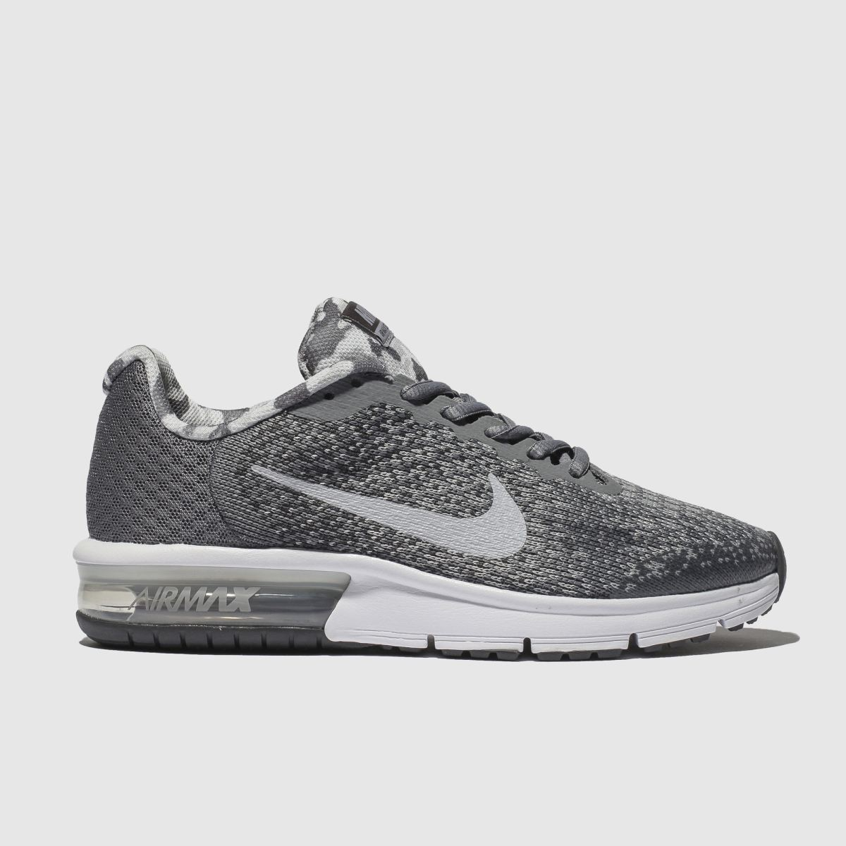 Nike Grey Air Max Sequent 2 Trainers Youth