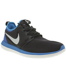 Nike Black and blue Roshe Two Boys Youth