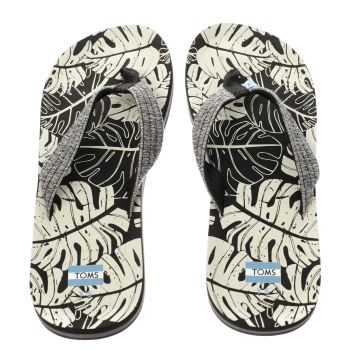 Toms Black Verano Boys Youth