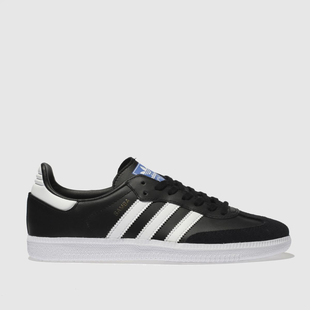 Adidas Black & White Samba Og Trainers Youth