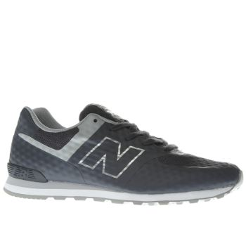New Balance Dark Grey 574 Breathe Boys Youth