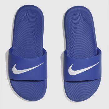 Nike Blue Kawa Slide Boys Youth