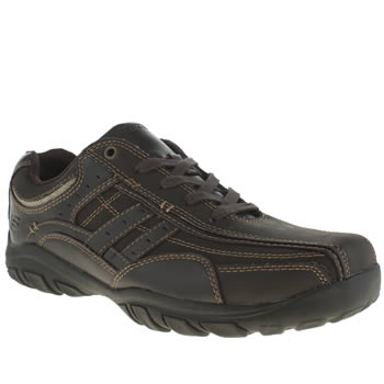 Skechers Dark Brown Grambler Boys Youth