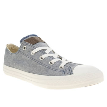 Boys Converse Navy All Star Oxford Boys Youth