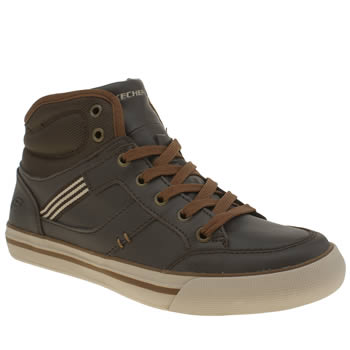 Skechers Brown Planfix Bowen Boys Youth